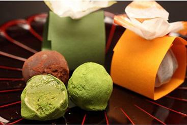 季節限定商品 和風ショコラ 抹茶 柑
