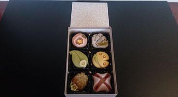 美味淡麗!季節の細工菓子